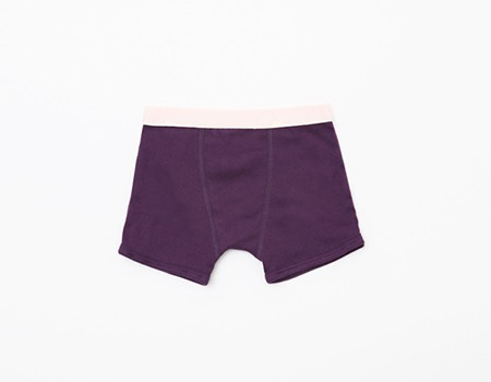 boy's boxer purple